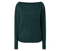 Pullover in Melange-Optik Modell 'Carmen'