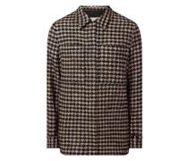 Hemdjacke aus Bouclé