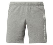Comfort Fit Sweatshorts aus Baumwollmischung