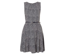 Kleid mit Punktemuster