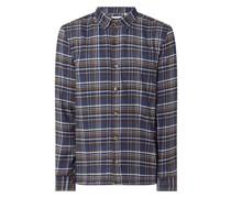 Regular Fit Freizeithemd aus Flanell Modell 'Ben'
