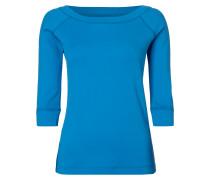 Shirt mit Stretch-Anteil - fein gerippt
