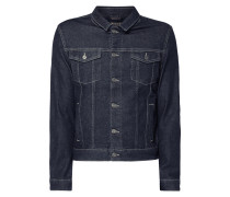Jeansjacke aus Raw Denim