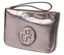 Clutch 'NIGHT OUT' mit Metallic-Effekt und Ziersteinen