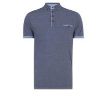 Regular Fit Poloshirt mit Button-Down-Kragen
