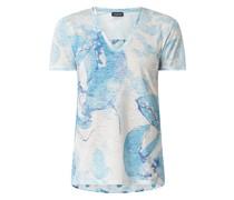 T-Shirt mit Ausbrenner-Effekt