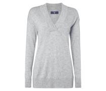 Pullover mit glitzerndem Effektgarn
