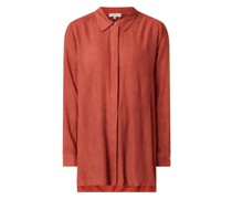 Oversized Bluse aus Krepp