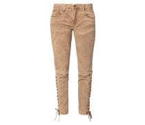 Skinny Fit Jeans mit Schnürungen