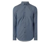 Slim Fit Freizeithemd mit Stretch-Anteil Modell 'Mabsoot'