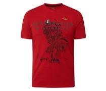 T-Shirt mit Stretch-Anteil