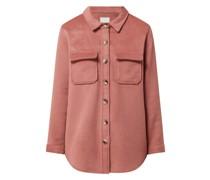 Hemdjacke mit Woll-Anteil Modell 'Vera'