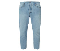 Rinsed Washed Relaxed Fit Jeans