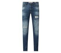 Slim Fit Jeans mit Stretch-Anteil Modell 'Morten'