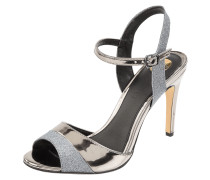 Sandalette in Metallic-Optik Modell 'Aida'