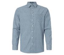 Regular Fit Freizeithemd mit floralem Muster