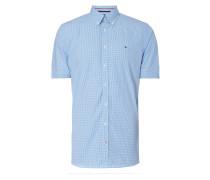 New York Fit Freizeithemd mit Button-Down-Kragen
