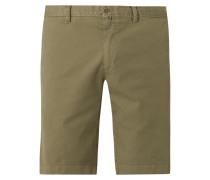 Slim Fit Chino-Shorts mit Stretch-Anteil Modell 'Salo'