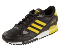 Sneaker mit Besatz in Kontrastfarbe