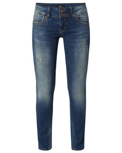 Super Slim Fit Jeans im Used Look