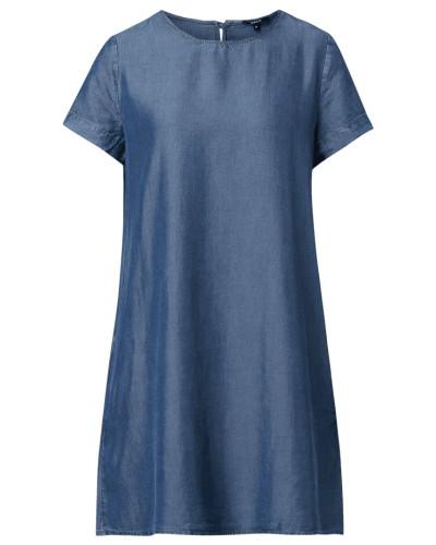Kleid in Denim-Optik