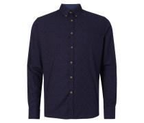 Slim Fit Freizeithemd mit Button-Down-Kragen