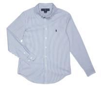 Custom Fit Hemd mit Button-Down-Kragen