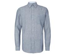 Casual Fit Freizeithemd mit Button-Down-Kragen