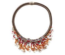 Halskette mit Zierperlen