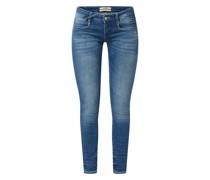 Skinny Fit Jeans mit Stretch-Anteil Modell 'Nena'