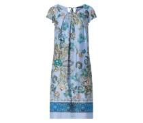Kleid mit Mustermix Modell 'Cilia'