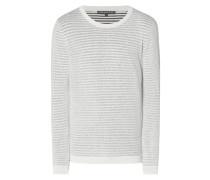 Pullover mit Streifenmuster im Inside-Out-Look