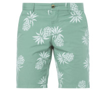 Classic Fit Chinobermudas mit Prints