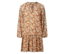 Minikleid mit floralem Muster Modell 'Fresa'