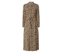 Blusenkleid mit floralem Muster Modell 'Nula'
