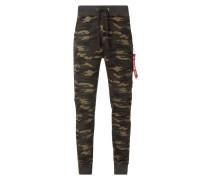 X-Fit Sweatpants mit Reißverschlusstasche