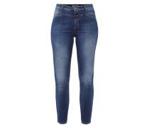 Skinny Fit Jeans mit Kontrastnähten