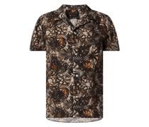 Regular Fit Leinenhemd Modell 'Bijan'