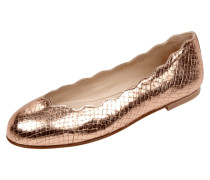 Ballerinas in Metallicoptik