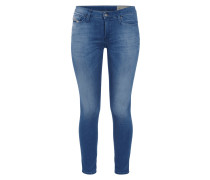 Super Slim-Skinny Stone Washed Jeans