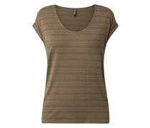 T-Shirt mit Streifenmuster Modell 'Bilone'