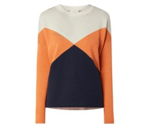 Pullover aus Bio-Baumwolle Modell 'Dalilaa'
