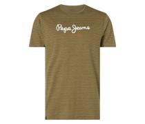 T-Shirt mit Streifenmuster Modell 'Wilmer'