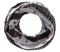 Loop-Schal mit Sternenmuster