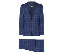 Extra Slim Fit Anzug mit 2-Knopf-Sakko