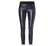Leggings in Metallicoptik