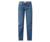 Regular Fit Jeans mit Stretch-Anteil Modell 'Karolin'
