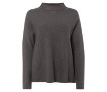 Boxy Fit Pullover mit offenen Nahtabschlüssen