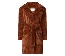 Mantel aus Kunstfell Modell 'Boda'