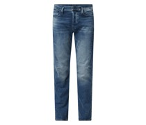 Slim Tapered Fit Jeans mit Stretch-Anteil Modell 'Scutar'